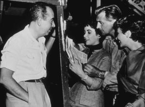 Elizabeth Taylor, Stewart Granger and Vincente Minnelli at MGM1954**R.C.MPTV - Image 0712_0120