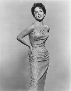 """Elizabeth Taylor in a publicity still for """"Giant"""" 1956 Photo by Bert Six"""