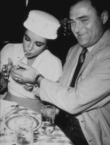Elizabeth Taylor and third husband Mike Todd1958MPTV - Image 0712_2179