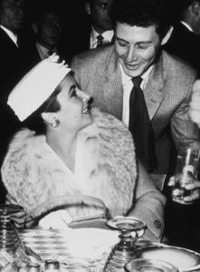 Elizabeth Taylor and fourth husband Eddie Fisher1959MPTV - Image 0712_2181