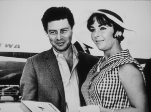Elizabeth Tayor and Eddie FisherC. 1961MPTV - Image 0712_2182