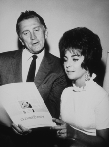 Elizabeth Taylor and Kirk Douglas1967 © 1978 Marv NewtonMPTV - Image 0712_2200