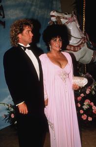 Elizabeth Taylor and Larry Fortensky1990 © 1990 GuntherMPTV - Image 0712_2208
