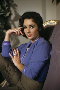 Elizabeth Taylor  circa 1956© 1978 Sanford Roth / A.M.P.A.S. - Image 0712_2264