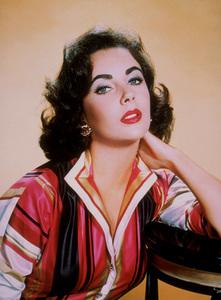 Elizabeth Taylor 1956 © 1978 Wallace Seawell - Image 0712_2391