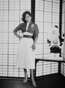 Elizabeth Taylor 1956 © 1978 Wallace Seawell - Image 0712_5005
