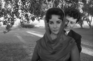 Elizabeth Taylor and Eddie Fisher on their wedding day in Las Vegas1959 © 1978 Bob Willoughby - Image 0712_5015