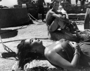 """Elizabeth TaylorOn the set of """"Suddenly Last Summer""""1959 Columbia**I.V. - Image 0712_5043"""