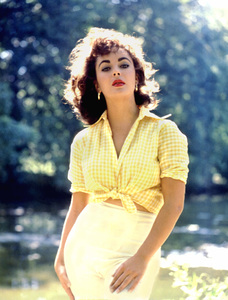 Elizabeth Taylor1957 © 1978 Bob Willoughby - Image 0712_5044