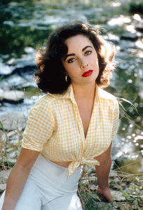 Elizabeth Taylor 1957 © 1978 Bob Willoughby - Image 0712_5045