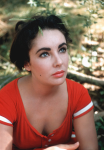 "Elizabeth Taylor Behind the scenes of ""Raintree County""1957 © 1978 Bob Willoughby - Image 0712_5052"