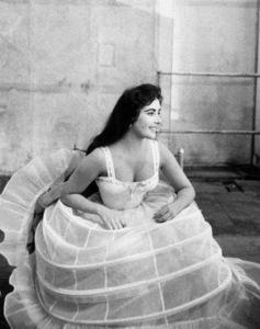 "Elizabeth TaylorOn the set of ""Raintree County""1957 © 1978 Bob Willoughby - Image 0712_5057"