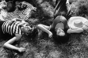"""Elizabeth Taylor and Montgomery Cliftduring the filming of """"Raintree County"""" 1957 © 1978 Bob Willoughby - Image 0712_5058"""
