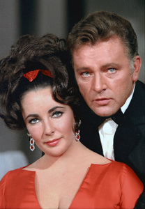 Elizabeth Taylor and Richard Burton on an NBC television show1965 © 1978 Bob Willoughby  - Image 0712_5153
