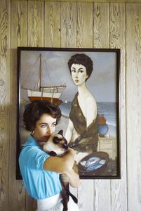 Elizabeth Taylor 1956 © 1978 Sanford Roth / AMPAS - Image 0712_5198