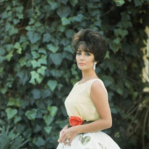 Elizabeth Taylor wearing
