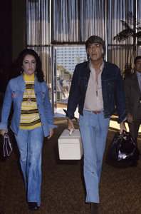 Elizabeth Taylor and Peter Lawfordcirca 1970s © 1978 Gary Lewis - Image 0712_5235