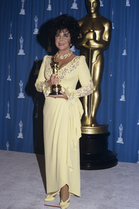 "Elizabeth Taylor at ""The 65th Annual Academy Awards""1993 © 1993 Gary Lewis - Image 0712_5240"