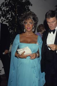 Elizabeth Taylor and Roddy McDowall1985 © 1985 Gary Lewis - Image 0712_5244