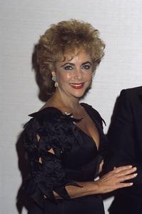 Elizabeth Taylor1984 © 1984 Gary Lewis - Image 0712_5247