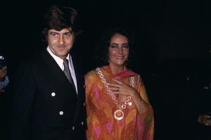 Elizabeth Taylor and Henry Wynbergcirca 1970s © 1978 Gary Lewis - Image 0712_5265