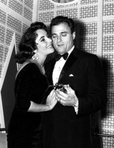 Elizabeth Taylor and Michael Todd circa 1958** I.V./M.T. - Image 0712_5278