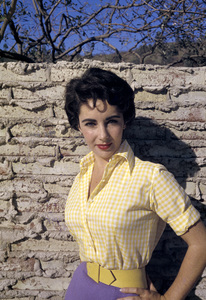 Elizabeth Taylor at her Beverly Hills homecirca 1956© 1978 Sanford Roth / A.M.P.A.S. - Image 0712_5312