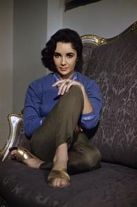 Elizabeth Taylor circa 1956© 1978 Sanford Roth / A.M.P.A.S. - Image 0712_5315