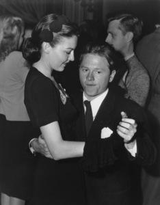 Mickey Rooneywith wife Ava GardnerC. 1942Photo by Bill Dudas - Image 0713_0017