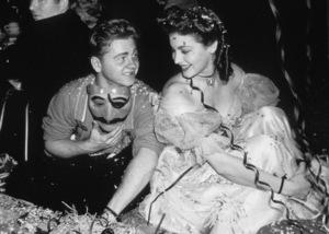 Mickey Rooney and Ava Gardner, c. 1942.**I.V. - Image 0713_0553