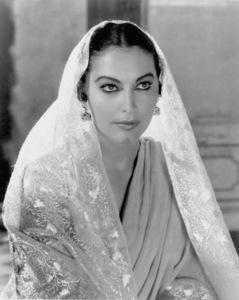 """Ava Gardner in headdress for """"Bhowani Junction"""" 1956** I.V. - Image 0713_0618"""