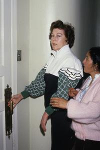 Ava Gardner after hand surgery1988© 1988 Gary Lewis - Image 0713_0622