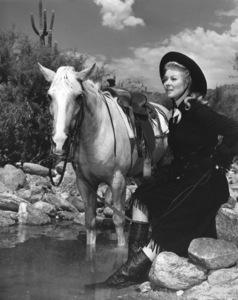 "Greer Garson in ""Strange Lady in Town""1955 Warner Brothers - Image 0714_0010"