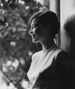 Leslie Caronat Home1/11/1955 © 1978 Sid Avery - Image 0715_0030