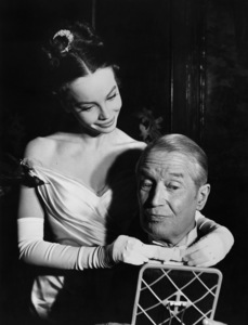 "Leslie Caron and Maurice Chevalier in ""Gigi""1958 MGM** I.V. - Image 0715_0042"