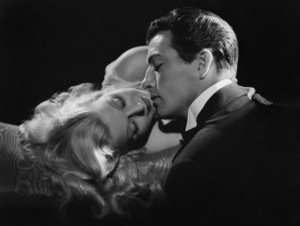 Jean Harlow and Robert Taylor 1937 © 1978 Ted Allan