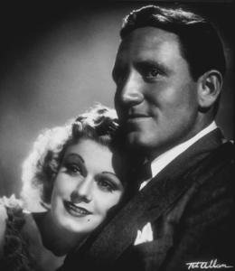 Jean Harlow and Spencer Tracy, 1936. © 1978 Ted Allan MPTV