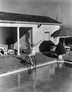 Jean Harlow at homecirca 1930s** R.C. - Image 0716_1173