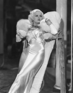 "Jean Harlowon the set of ""Dinner at Eight""1933**I.V. - Image 0716_1197"