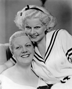 Jean Harlow with her mothercirca 1933** I.V. - Image 0716_1207