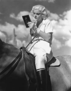 "Jean Harlowon the set of ""Bombshell""1933**I.V. - Image 0716_1209"