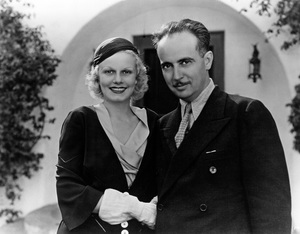 Jean Harlow and Paul Berncirca 1932** R.C. - Image 0716_1225