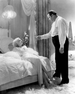 "Jean Harlow and Wallace Beery in ""Dinner at Eight""1933 MGM** I.V. / J.J. - Image 0716_1239"