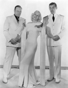 """Wallace Beery, Jean Harlow and Clark Gable in """"China Seas""""1935 MGM** I.V. / M.T. - Image 0716_1264"""