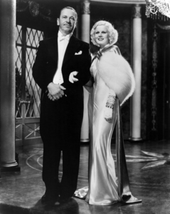 """Wallace Beery and Jean Harlow in """"Dinner at Eight""""1933 MGM** I.V. / M.T. - Image 0716_1270"""