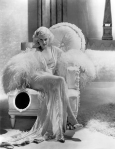 """Jean Harlow in """"Dinner at Eight""""1933 MGM** I.V. / M.T. - Image 0716_1277"""