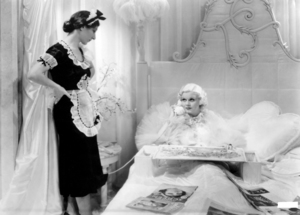 "Hilda Vaughn and Jean Harlow in ""Dinner at Eight""1933 MGM** I.V. / M.T. - Image 0716_1285"