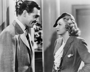 "Clark Gable and Jean Harlow in ""Wife vs. Secretary""1936 MGM** I.V. / M.T. - Image 0716_1287"