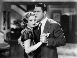 """Chester Morris and Jean Harlow in """"Red Headed Woman""""1932 MGM** I.V. / M.T. - Image 0716_1291"""