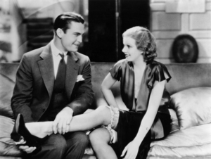 "Chester Morris and Jean Harlow in ""Red Headed Woman""1932 MGM** I.V. / M.T. - Image 0716_1292"